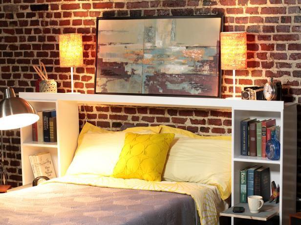 25+ Best Ideas About Headboard Shelves On Pinterest