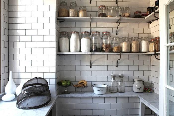 English Tiled Pantry | Remodelista: