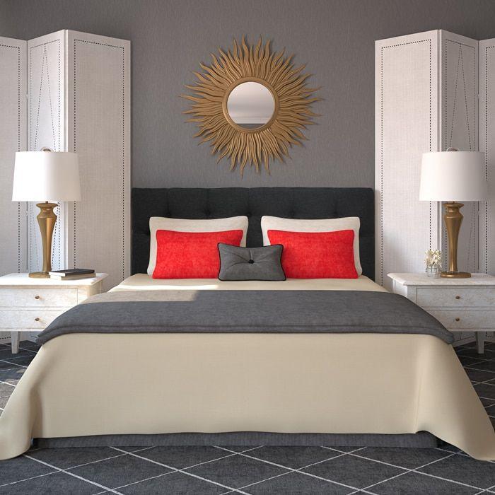 25 Best Ideas About Black Headboard On Pinterest Black Bedroom Decor Black Bedroom Furniture