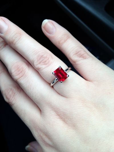 Top Four Benefits Of Natural Ruby Ring Over A Diamond Ring Jewels Pinterest Natural