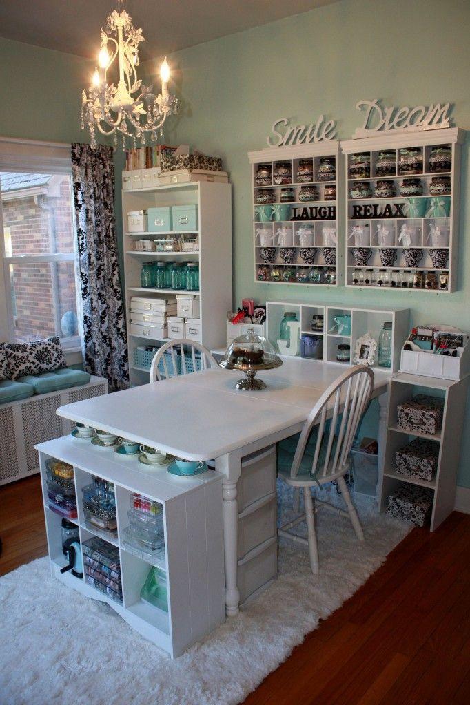 Nail Station Table Ideas
