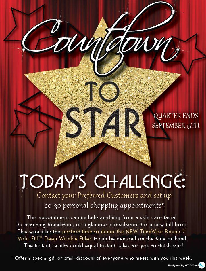 Mary Kay® star consultant program flyer http//www.blog