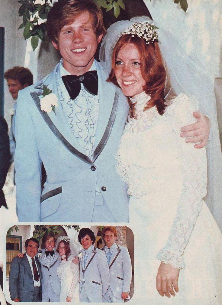 Actor/Director Ron Howard married Cheryl Alley in 1975