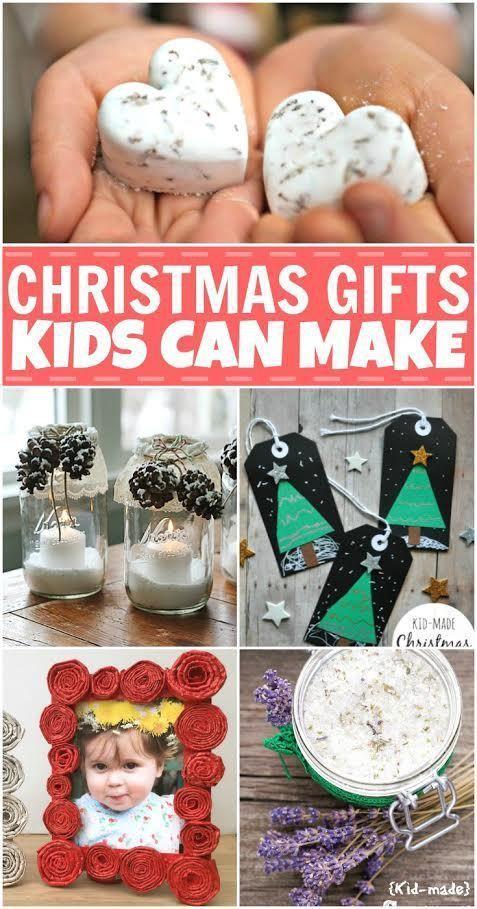 Christmas gifts that kindergarteners can make