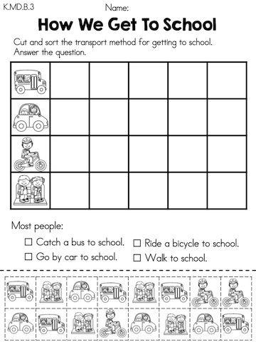 Graphing Activities Schools And Kindergarten Math
