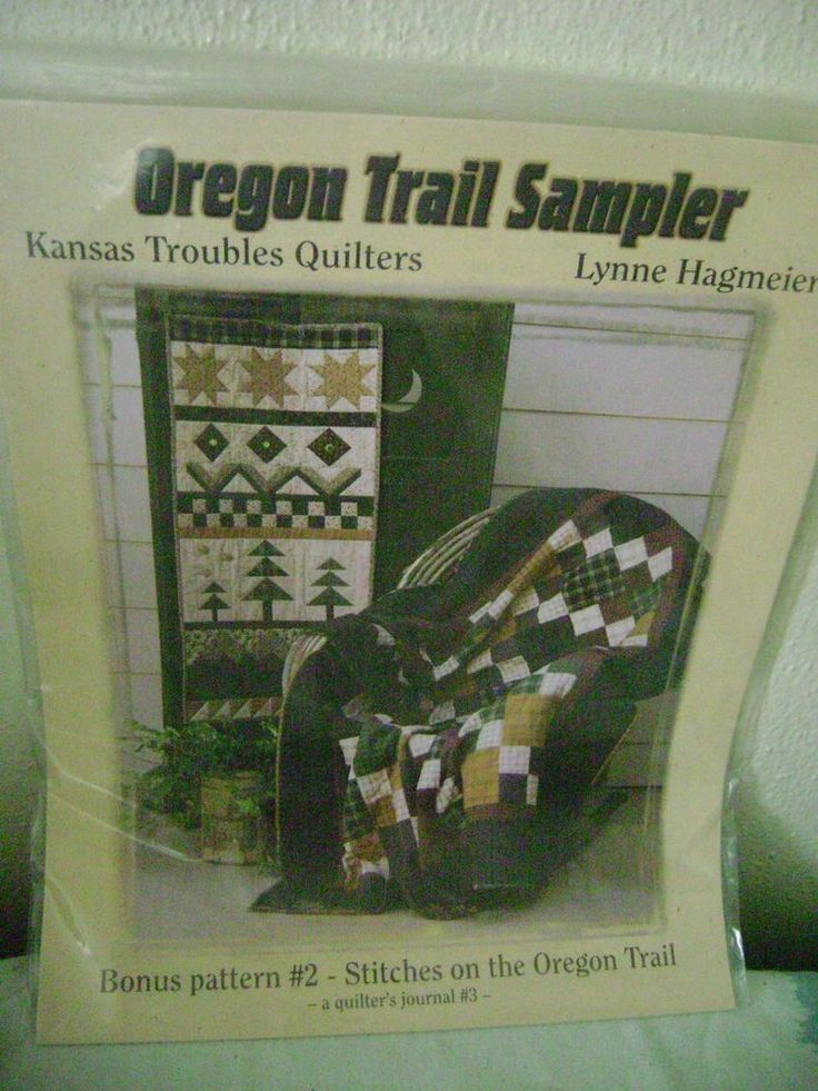 Oregon Trail Sampler Kansas Troubles Quilters, Journal 3