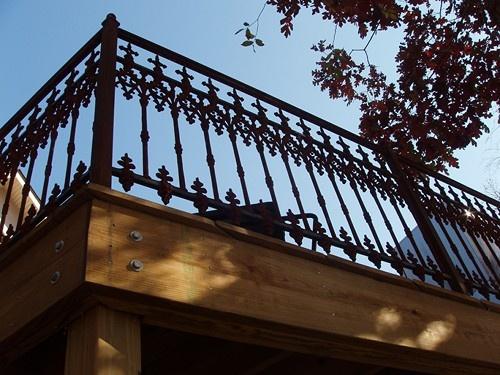 Unique Porch Railing