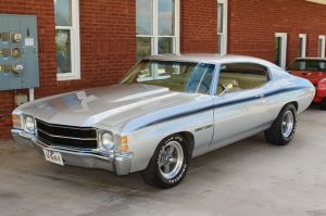 1971 Heavy Chevy Chevelle This was my first car! Mine was
