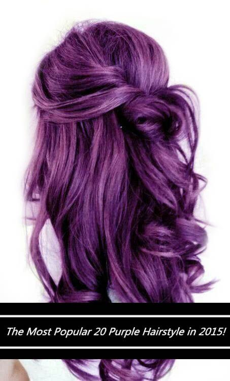 Warning These 20 Purple Hairstyles Will Make You Want To