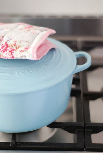 Light Blue Le Creuset Im Holding Out For Mint Green Or
