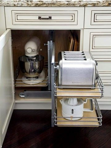 I need pull-out storage for my pots & pans!