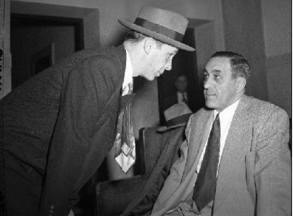 Unknown Gentleman Address The Boss Of Bosses Tony Accardo