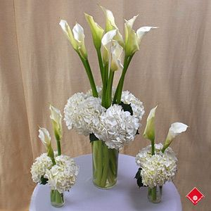 Calla Lilies Arrangement Calla Lily Wedding Theme