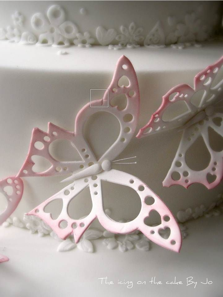 17 Best Ideas About Fondant Butterfly On Pinterest Baby
