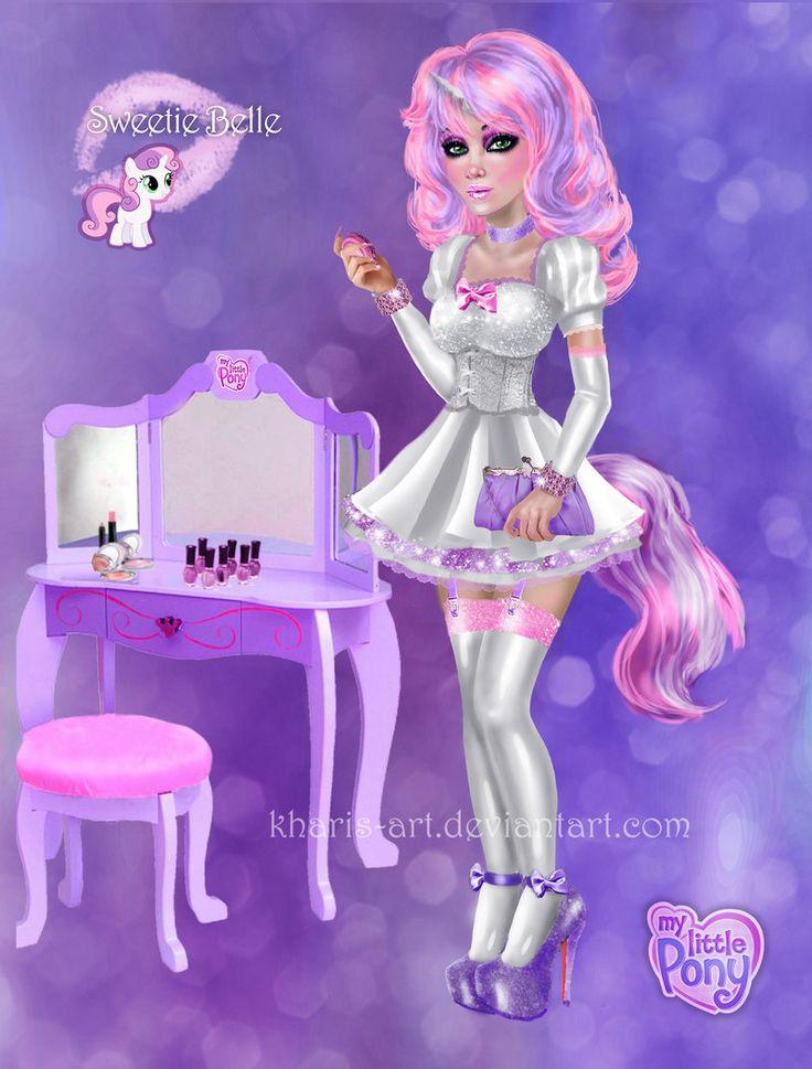 Rarity Belle Mlp Sweetie X