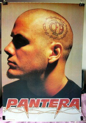 Phil Anselmo Cfh Tattoo Head Poster PanteraPhil Anselmo