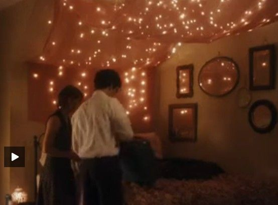 The Perks Of Being A Wallflower Fairy Lights Sam S Bedroom