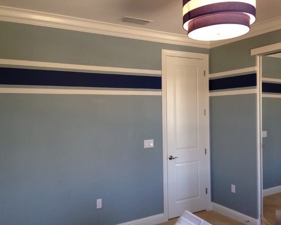 How To Jazz Up Your Boys Bedroom Using Bright Wall Paint Contemporary Kids Room Painting Ideas Blue Color Scheme Pheebay Com Bed Inspiration Pinterest