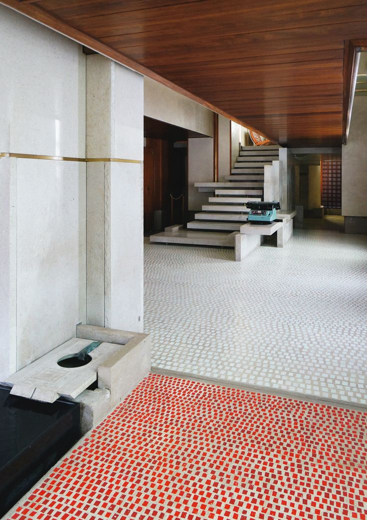 Shaoyi L Red Spots Olivetti Showroom 1959 Carlo Scarpa