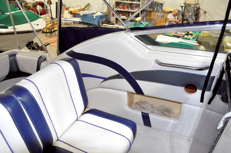 17+ Images About Boat & Marine Upholstery Ideas On