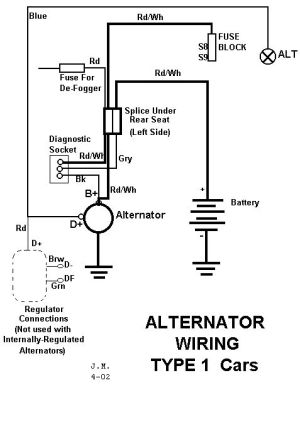 Alternator wiring diagram | 411 amps volts switch n