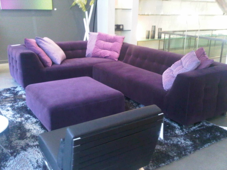 17 Best Images About Purple Sectional Sofa On Pinterest Modern Classic Modern Interior Design
