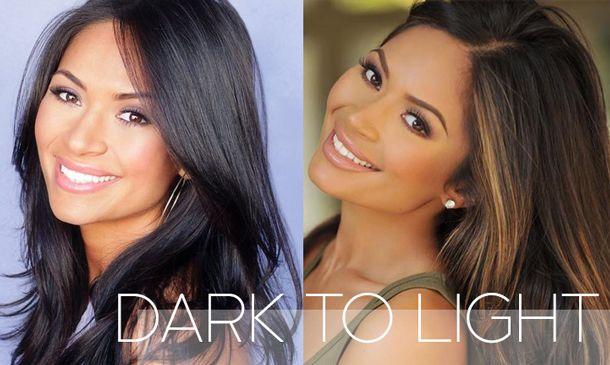 Hair Fashion Online How To Lighten Dark Hair At Home