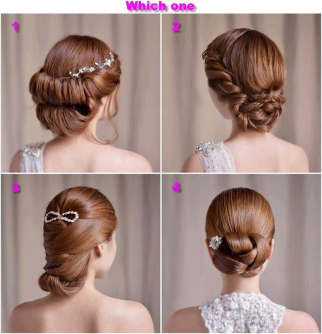 Sleek hair styles  for a formal ball  Prom Masquerade