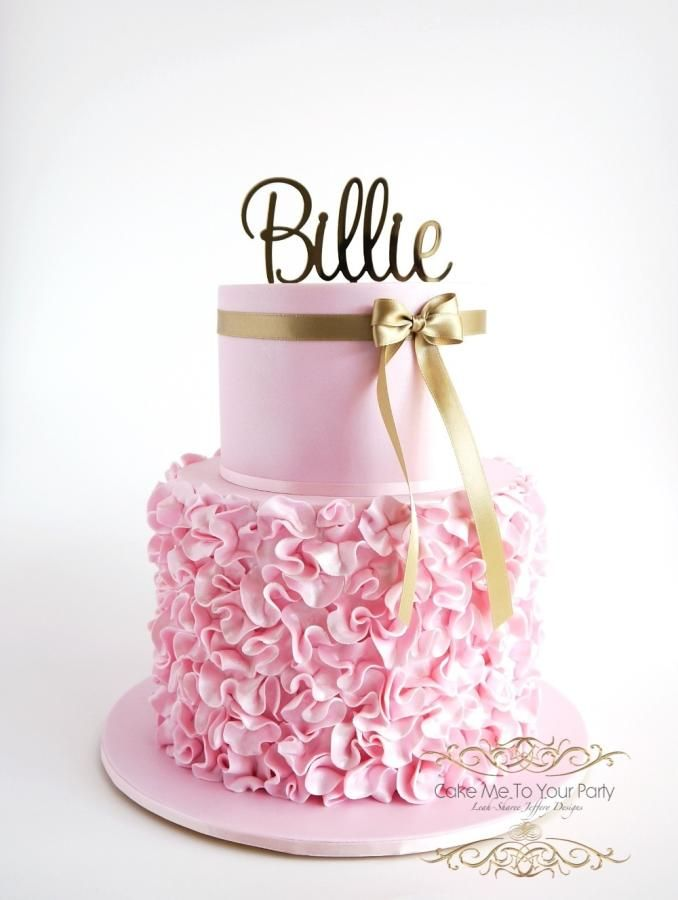 742 Best Images About Ruffled Cakes On Pinterest