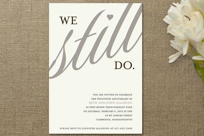 1000+ Ideas About Vow Renewal Invitations On Pinterest