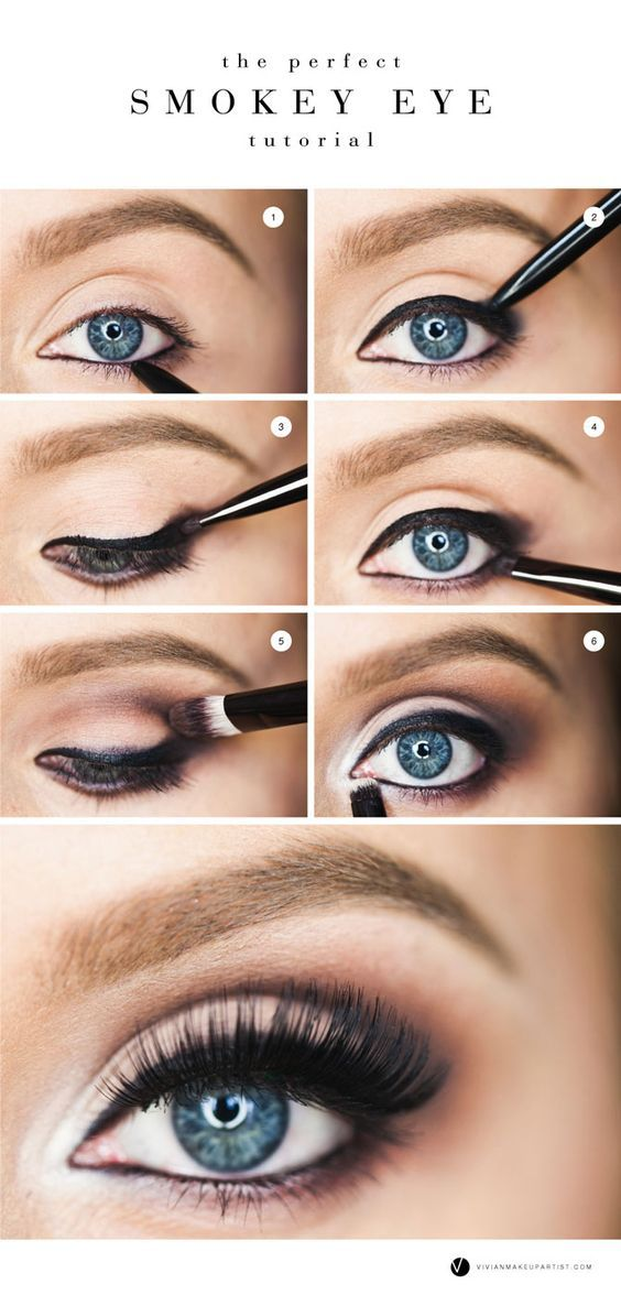 New Year's Eve Eye Makeup – The perfect smokey eye tutorial for every occasion