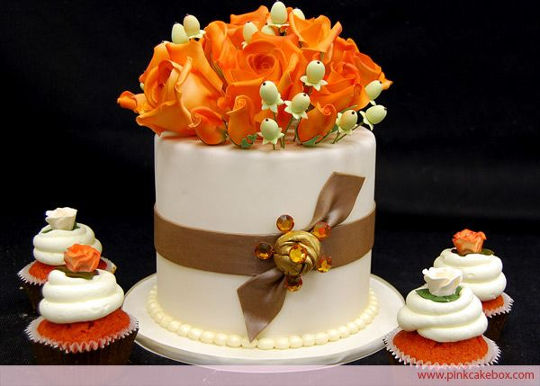 17 Best Ideas About Fall Wedding Cupcakes On Pinterest