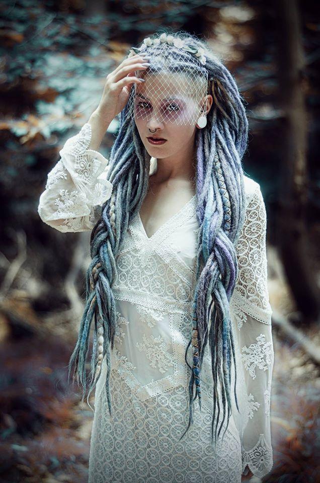 Wonderful Blue Locks Dreadlocks And Braids Pinterest