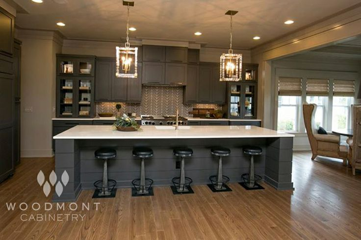 Elegant Kitchen Cabinets By Woodmont Cabinetry Style