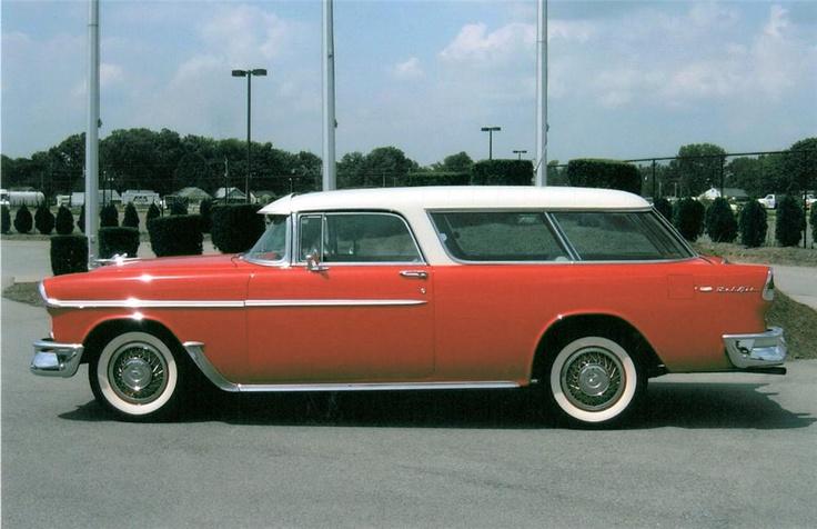 1955 Chevrolet Nomad Station Wagon Adam Pinterest