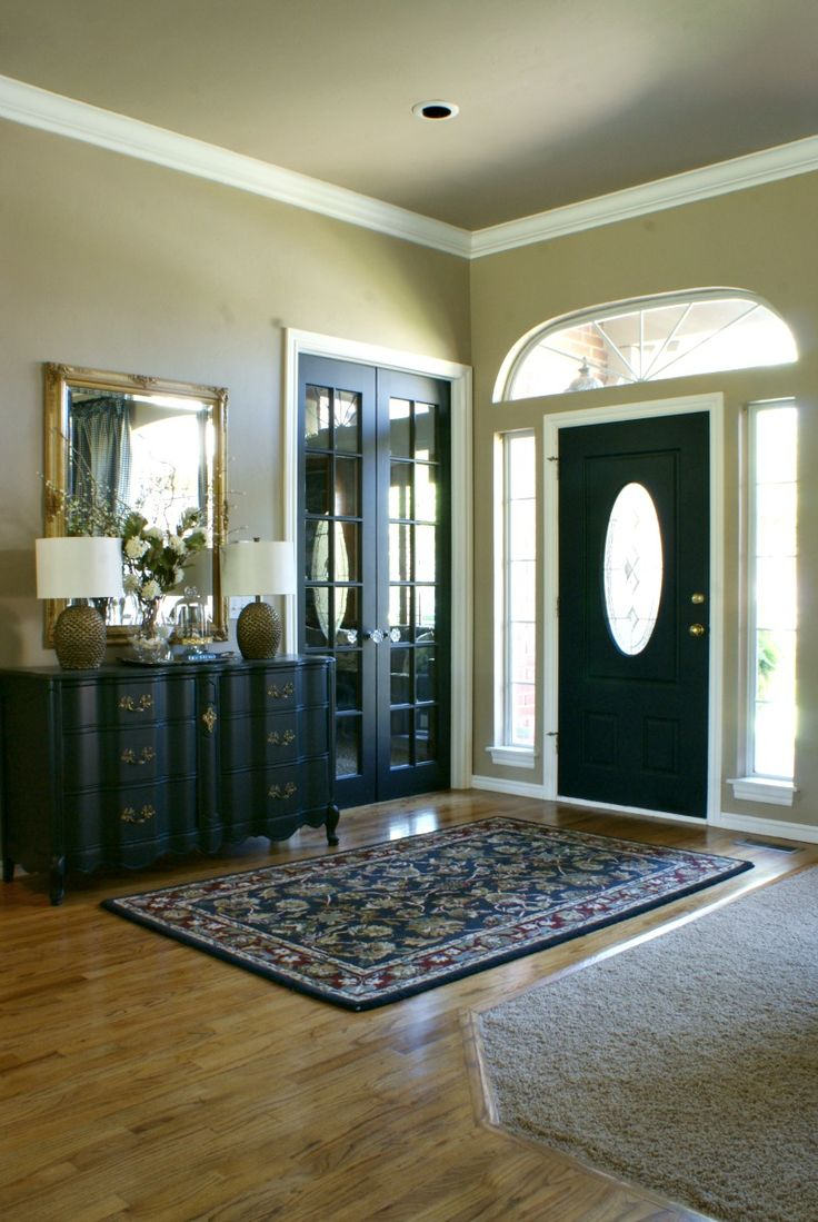 17 Best Ideas About Paint Doors Black On Pinterest Black