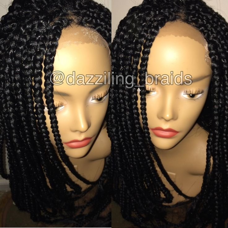 Lace Front Box Braid Wig Lace Front Braid Wig