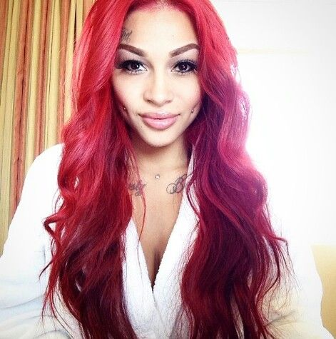 Brittanya Is My Woman Crush Now Even More With Her New Red