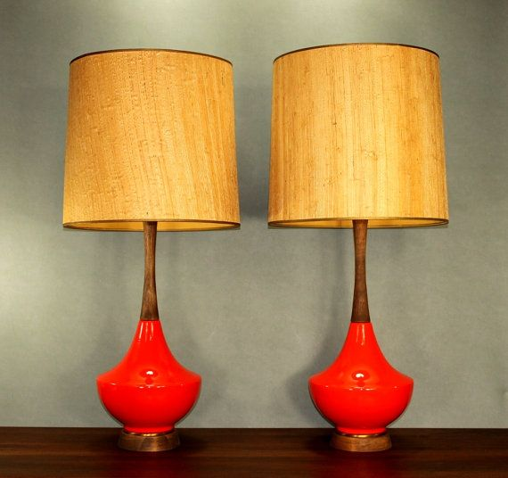vintage mid century modern floor lamps