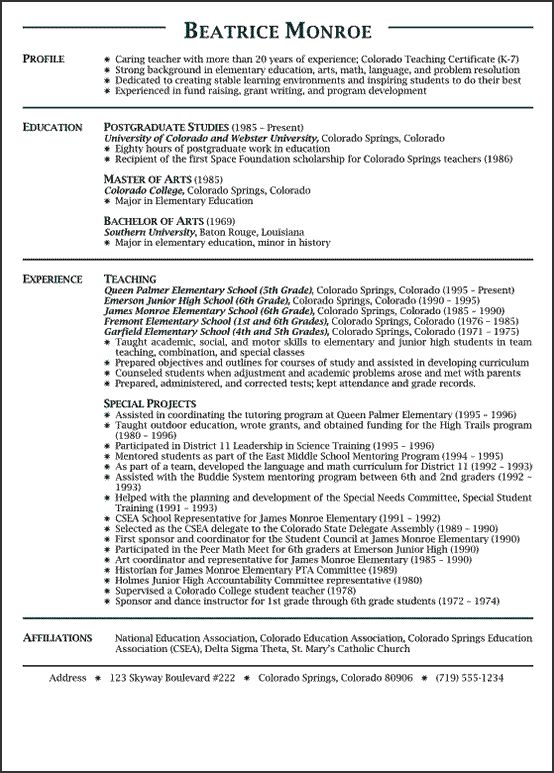 1000 ideas about high school resume on pinterest letter example