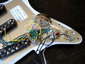 Fender Deluxe Stratocaster w S1 Switch Wiring Diagram | Guitar repair | Pinterest | Fender deluxe