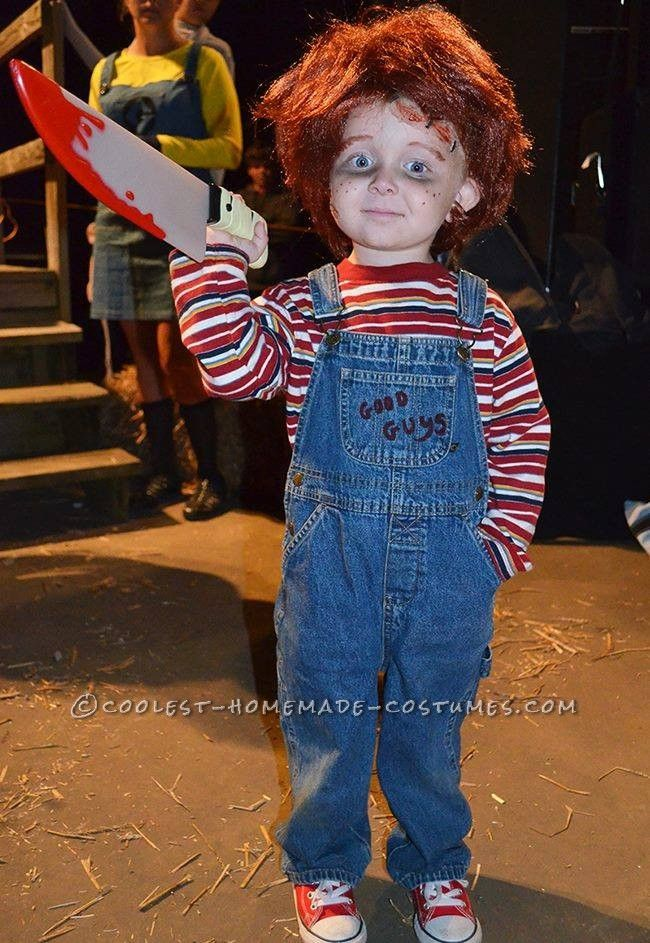 ContestWinning Little Chucky Costume for a Toddler… Enter