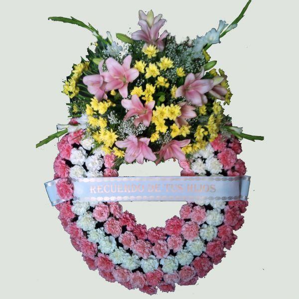 Corona De Flores Para Los Difuntos Flores Para El Adis