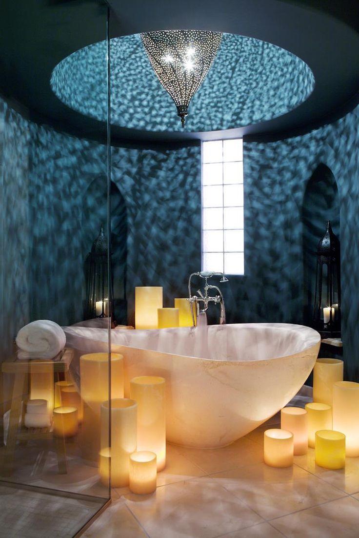ponad 25 najlepszych pomysłów na temat: romantic bathrooms na