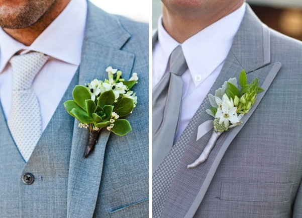 Wedding Ideas: Flowers, Men's Corsage, Boutonniere