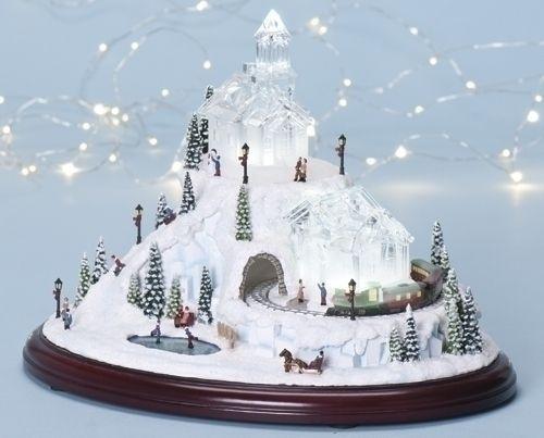 Roman Amusements LED Lighted Animated Amp Musical Christmas