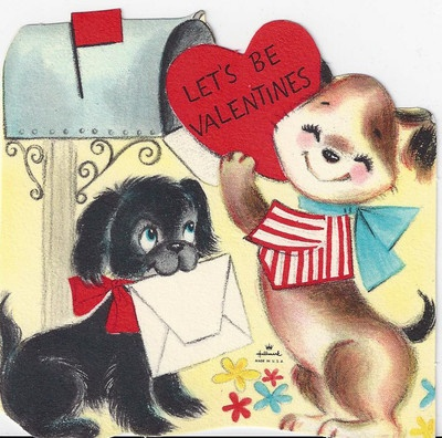 1000 Images About Vintage Valentines Day Greeting Cards