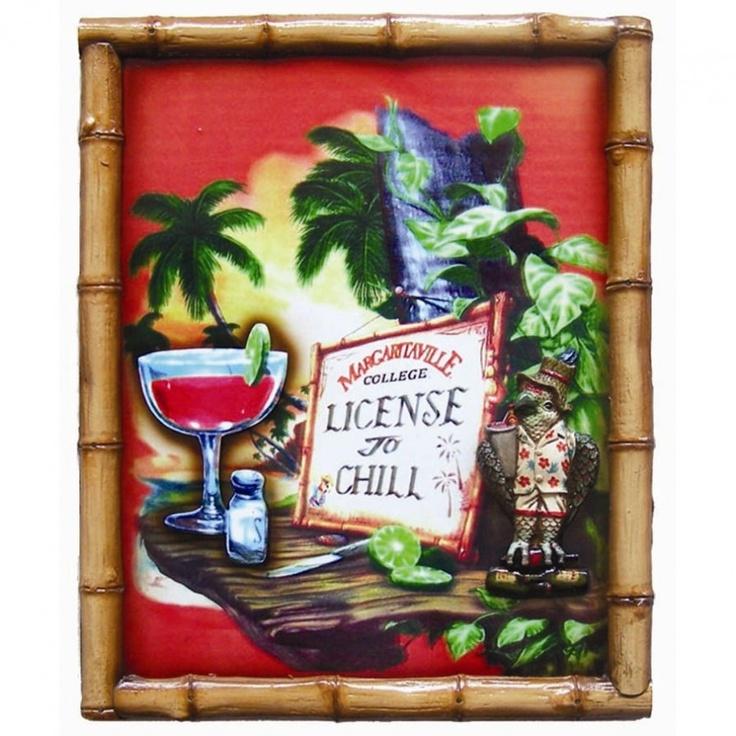 RAM Gameroom Margaritaville Pub Sign ODR156 Parrothead