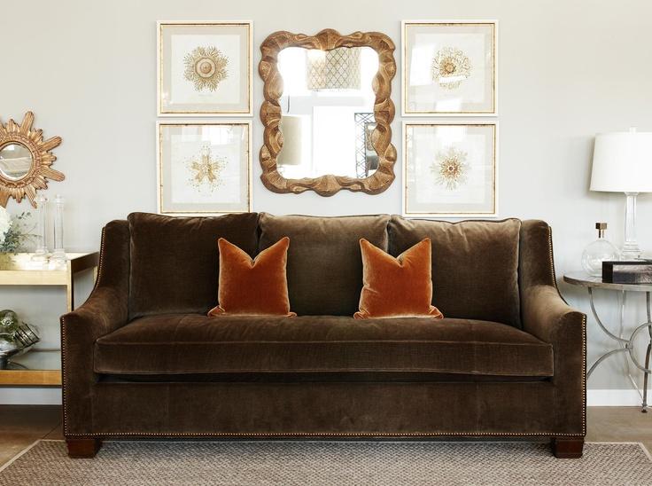 Hickory Chair sutton sofa Hickory Chair HHG Pinterest