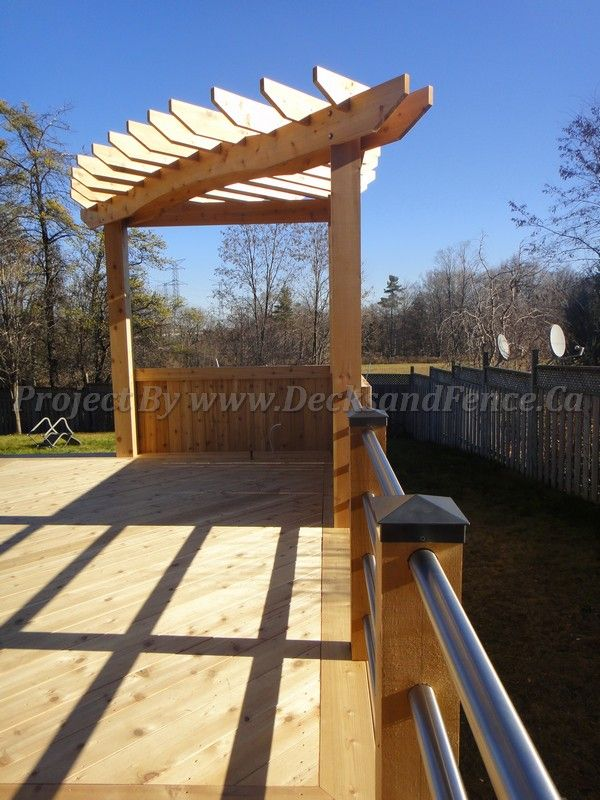 90 Degree Angle Deck Pergola Room X Room Porch Amp Patio